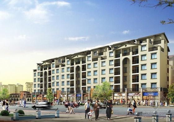 [福建]大型商住楼建设项目可行性研究报告(含财务分析91页)