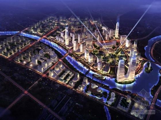 [辽宁]滨水区现代风格城市综合体设计方案文本(知名建筑事务所)