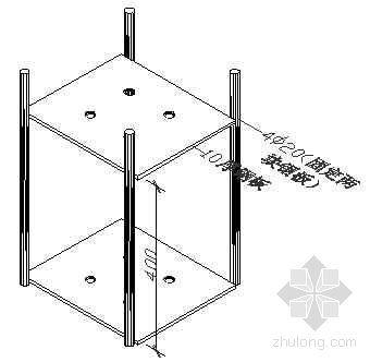 钢结构基础地脚螺栓预埋施工工法