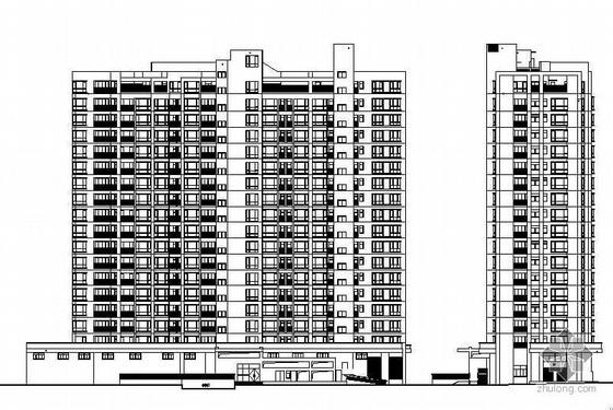 [东莞]某十八层商住楼建筑施工图(有总平)