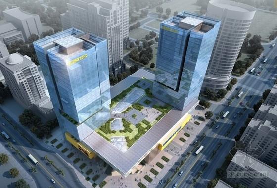 [广东]知名企业新型城市综合体建筑设计方案文本(连锁家电企业)