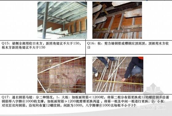 土建工程安全文明及实体质量标准管理做法(图文结合)