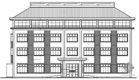 某三层小型办公楼建筑施工图
