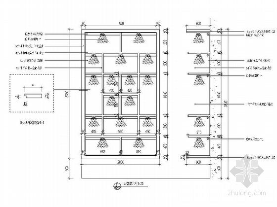 [武汉]中式风格两层售楼处室内装修图(含效果) 节点