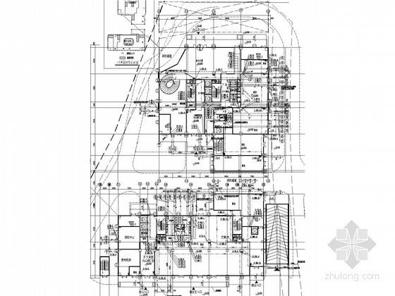 [浙江]高层公共综合建筑群给排水消防施工图(自动扫射灭火 雨水收集)