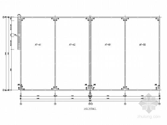 垃圾填埋场AF池结构施工图
