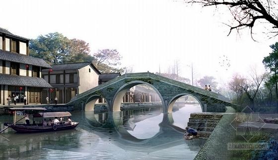 [江苏]山清水秀休闲旅游区景观总体规划设计方案(知名设计院)-景观效果图