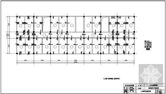 [学士]某教学楼毕业设计(含计算书,建筑、结构图)