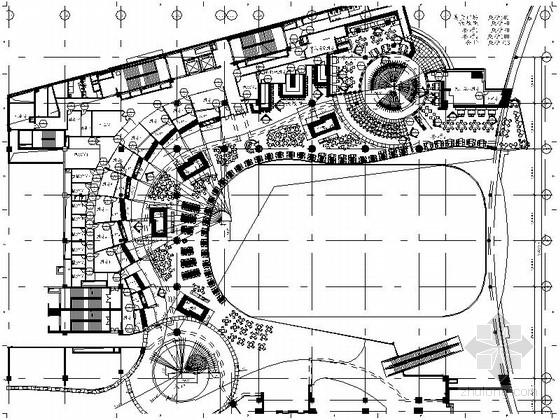 [沈阳]甲级事务所设计美食快餐广场施工图(含效果图)