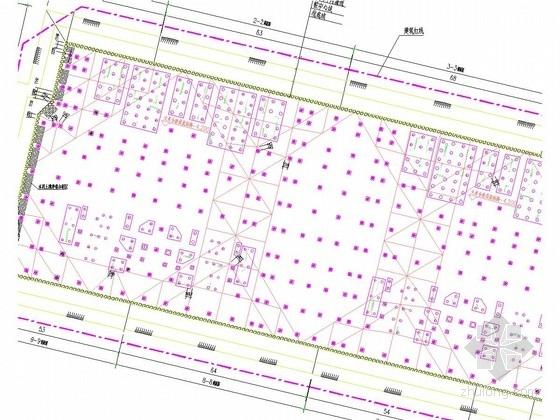 [福建]桩撑支护和土钉墙基坑支护施工图(附计算书)
