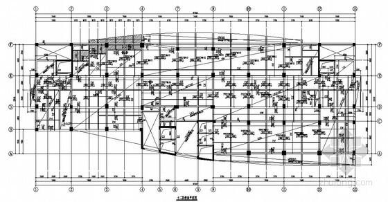 [武汉]框架剪力墙结构住院大楼结构施工图(12层 桩基础)