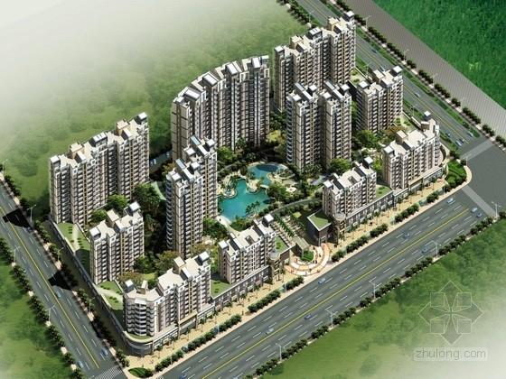 [长沙]某高层居住区规划方案文本