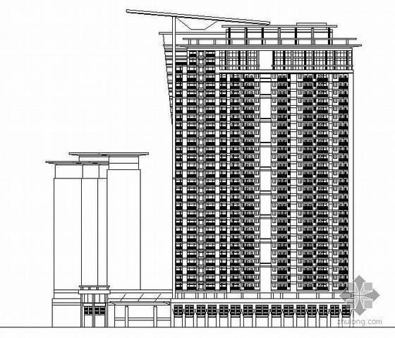 [北京]某三十三层国际大厦建筑设计方案