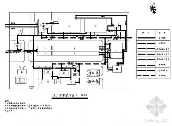 内蒙古某水厂给水工程毕业设计全套图纸