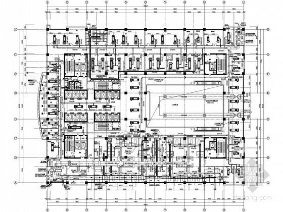 [江苏]大型医院病房楼空调通风全套施工图(知名院图纸,详图丰富)