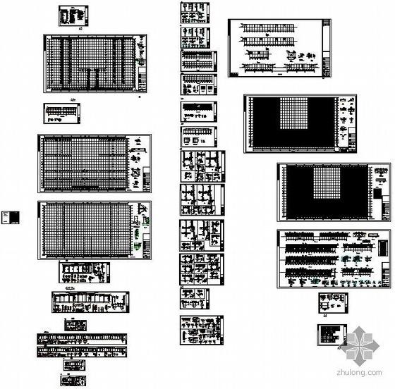 重庆某研发中心厂房及办公楼钢结构图纸