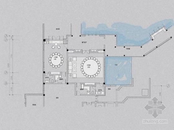 [合肥]高级会所室内深化方案设计图