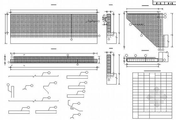 连续钢构箱梁特大桥桥台牛腿耳背墙钢筋构造节点详图设计