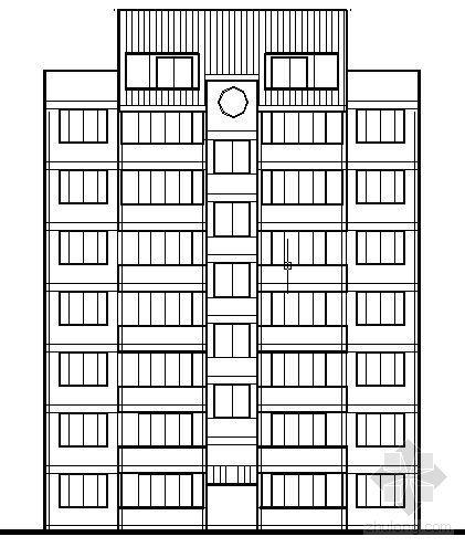 遵义市外环路沙河区修建性规划住宅楼方案图6