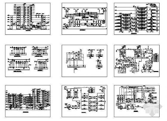 空调系统流程图大全