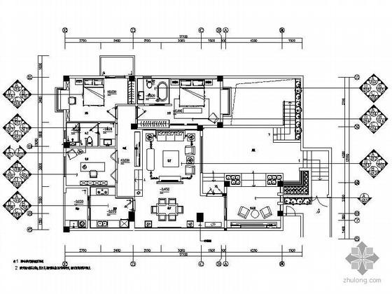 现代中式风格双层别墅装修图(含效果)