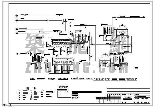 带控制点水处理工艺图