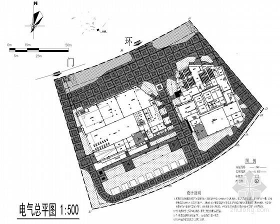 [浙江]休闲广场工程传达室电气施工图