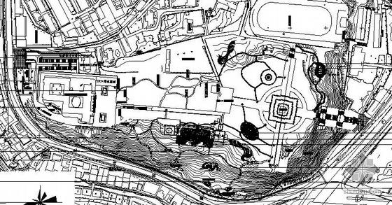 福建革命烈士陵园景观施工图全套