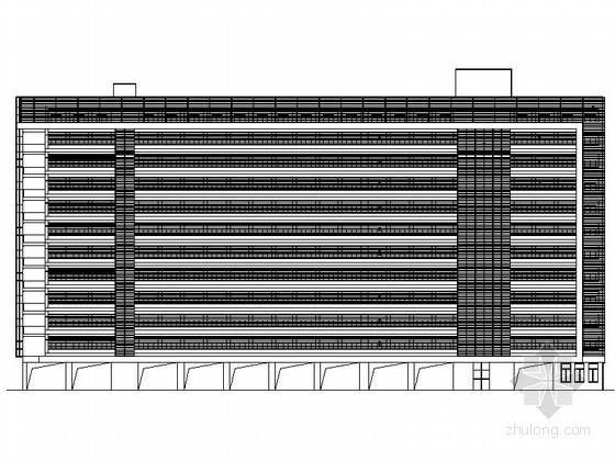 某工厂十二层宿舍楼建筑扩初图