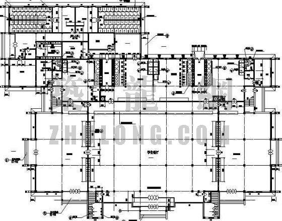 某学校餐厅建筑设计方案-4