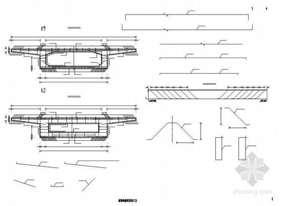 15m现浇钢筋混凝土连续箱梁钢筋布置节点详图设计