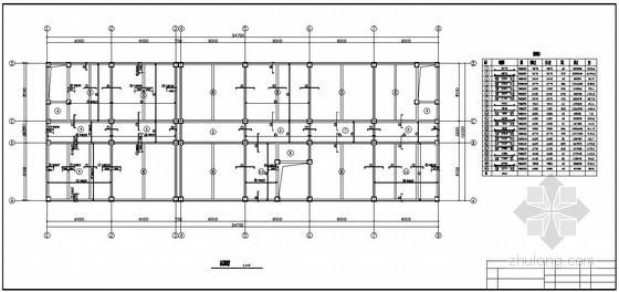 [学士]某6层框架银行办公楼全套毕业设计(含计算书,建筑、结构图)
