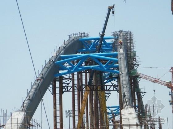 [江苏]下承式刚架系杆拱桥施工组织设计