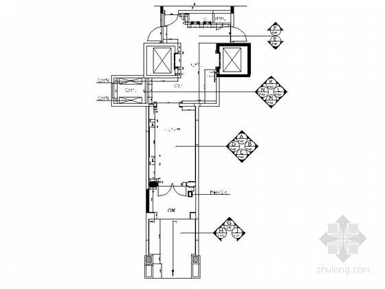[广东]某豪华小区首层住宅大堂装修竣工图