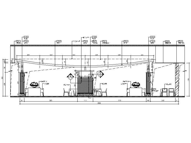 [北京]优雅唯美云南特色餐厅室内设计施工图(含效果图)_4