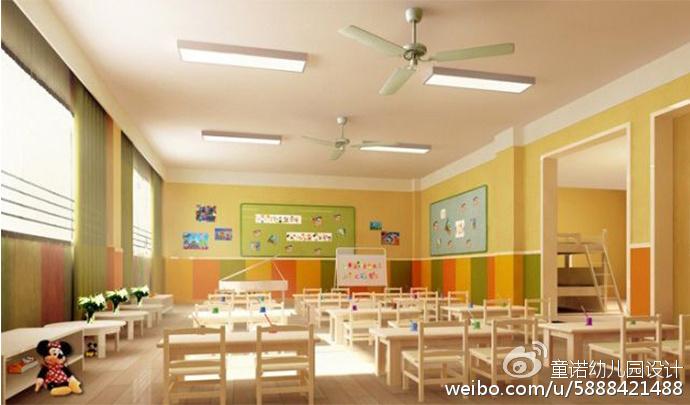 如何设计幼儿园活动室?