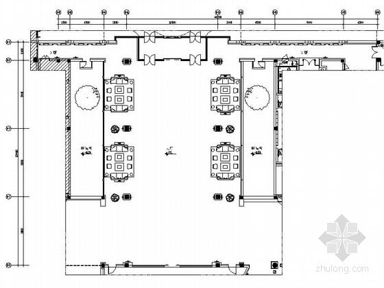 [苏州]苏式恬静新中式风格会议酒店大堂设计施工图(含效果)