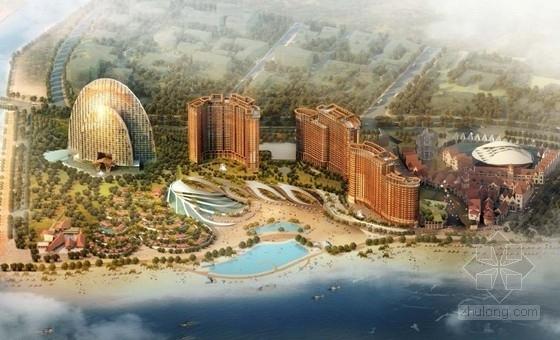 [山东]大型度假区酒店规划设计汇报方案(精品方案 资料齐全 地标建筑)