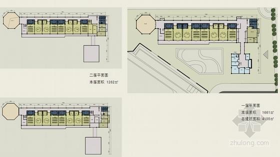 新古典风格住宅区规划平面图