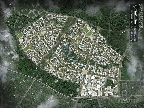 [重庆]某地块组团开发规划设计方案