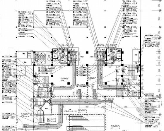 [河南]公寓楼及地下车库通风防排烟系统设计施工图