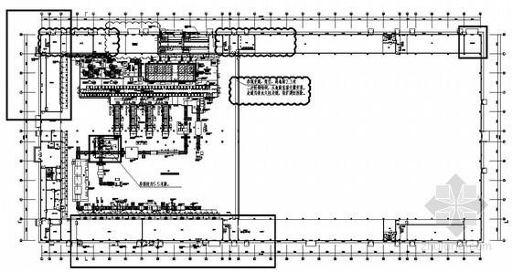 某生产厂房给排水消防设计施工图纸