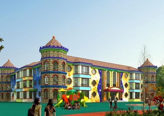 [河南]2014年3层幼儿园建筑安装工程预算书(含广联达软件应用)