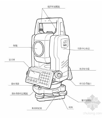GTS-100N系列电子全站仪使用手册