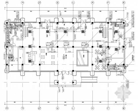 [辽宁]高层住宅小区采暖通风及防排烟系统设计施工图(人防设计)