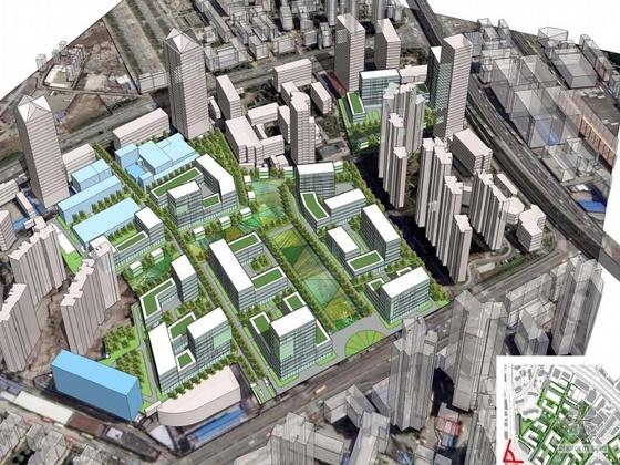 [上海武宁]某科技园规划设计文本