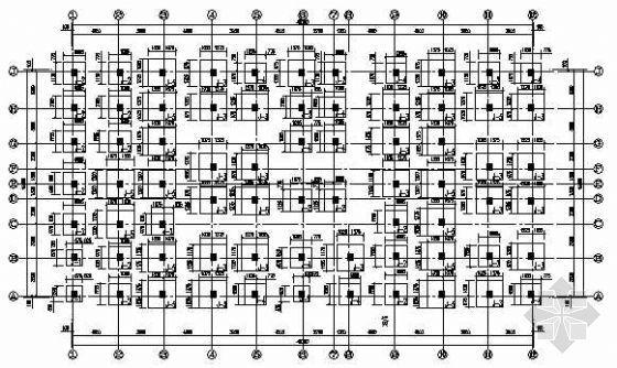 五层框架结构延伸段改造结构施工图