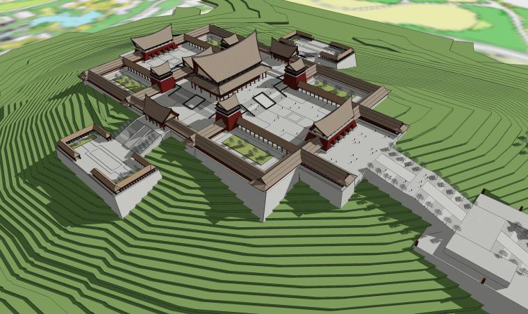 [云南]旅游城市规划民族风建筑群单体设计方案文本(PDF)