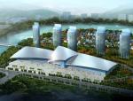 国际会展中心全套建筑结构施工图(鲁班奖)
