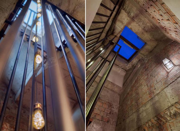 loft工业风装修完工照片_3